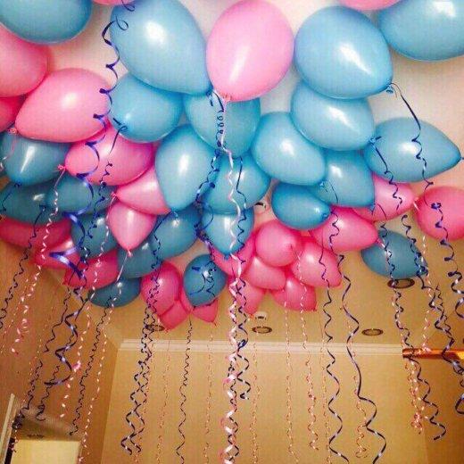 Гелиевые шарики. Фото 2. Железнодорожный.