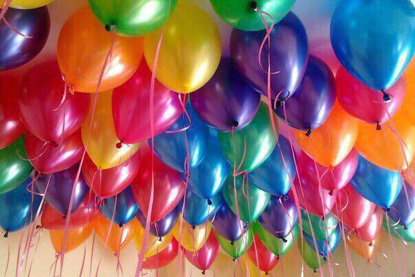 Гелиевые шарики. Фото 1. Железнодорожный.