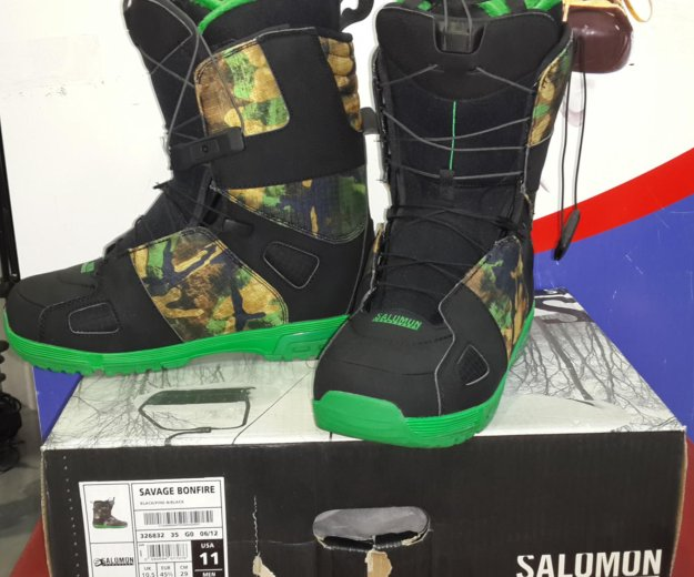 Сноубордические ботинки. Фото 1. Ижевск.