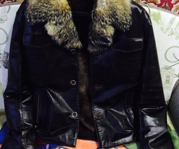 Куртка зимняя, мех лисы. Фото 1. Новый Уренгой.