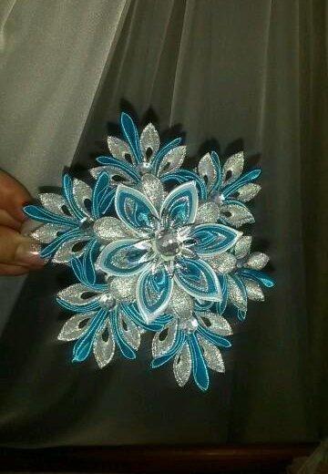 Снежинка ободок. Фото 2. Белгород.