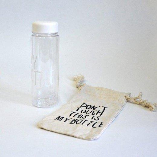 Бутылка my bottle (белая и др) с мешочком. новая. Фото 2. Сургут.