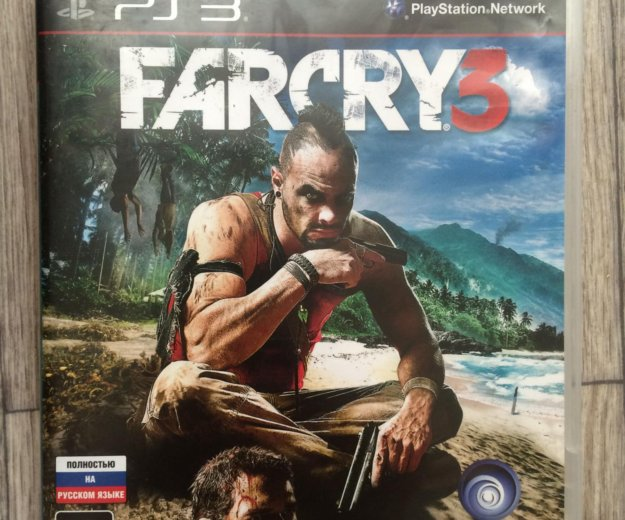 Продам farcry 3 на ps3 в отличном состоянии. Фото 1. Волгоград.