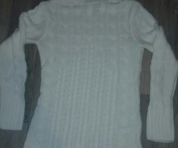 Свитер - платье. Фото 1.