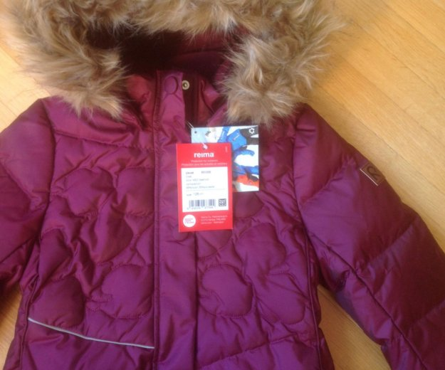 Новая куртка рейма reima зима пуховая р128. Фото 2. Москва.