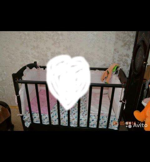 Детская кроватка. Фото 1. Тверь.