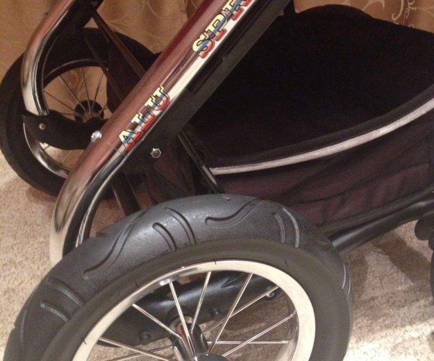 Качественная коляска микрус алу спринт 2 в 1. Фото 2. Красноярск.