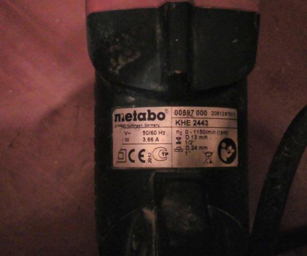 Продается перфоратор metabo. Фото 2. Москва.