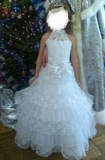 Белоснежное платье. Фото 1. Астрахань.