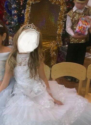 Белоснежное платье. Фото 2. Астрахань.