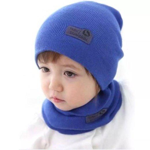 Детская шапка с шарфом. Фото 1. Набережные Челны.
