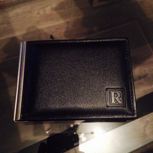 Кажаный кошелёк прищепка. Фото 1. Москва.