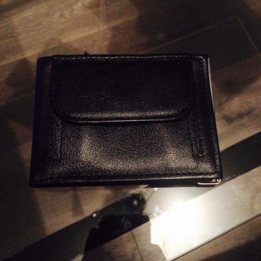Кажаный кошелёк прищепка. Фото 2. Москва.