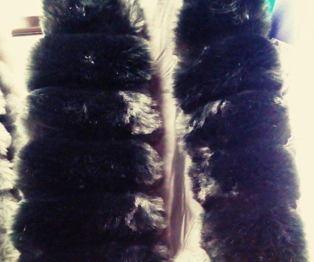 В наличии меховая жилетка эко мех. Фото 1. Набережные Челны.