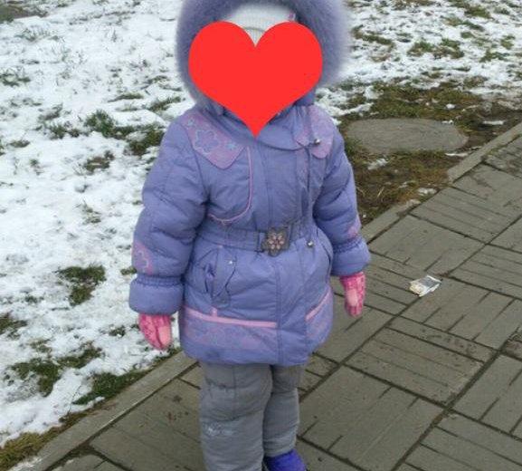 Зимняя куртка 98-104 см (2-4 г). Фото 1. Томск.
