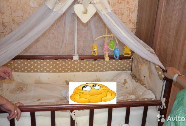 Детская кровать маятник. Фото 1. Санкт-Петербург.