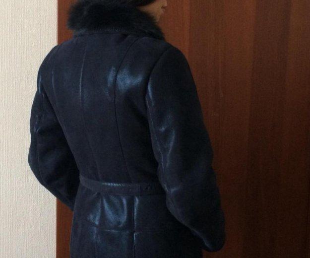 Дублёнка натуральная, новая+в подарок шапка писец. Фото 3. Челябинск.