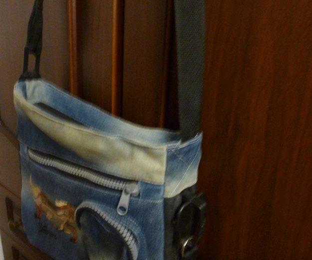 Сумка джинсовая. Фото 1. Юбилейный.