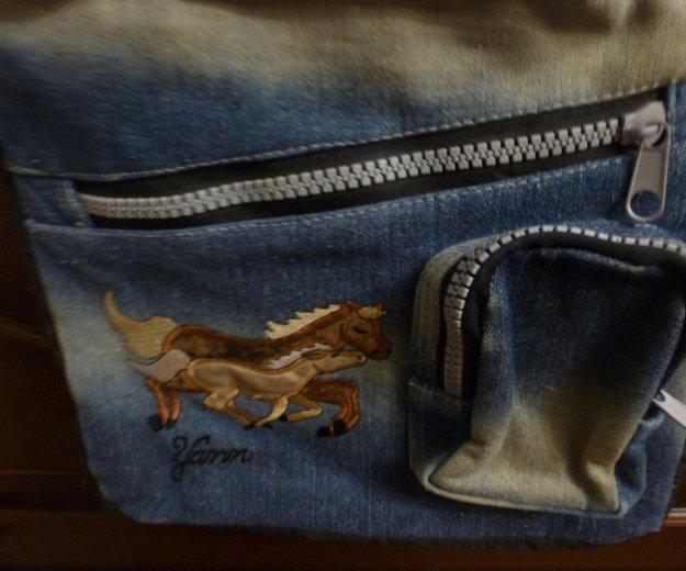 Сумка джинсовая. Фото 3. Юбилейный.