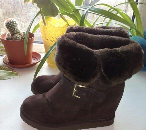 Обувь зима. Фото 1. Шахты.
