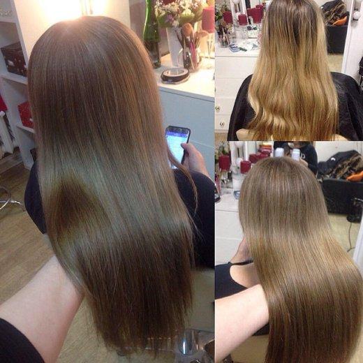 Окрашивание волос. Фото 2. Тюмень.