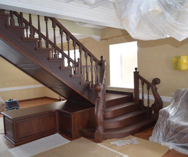 Изготовление лестниц. Фото 1.