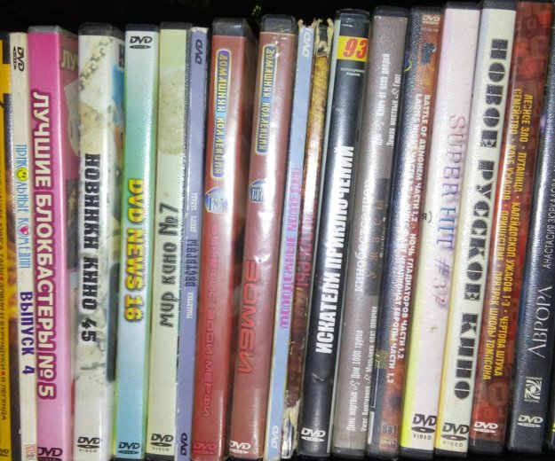 Продам диски с фильмами. Фото 1. Благовещенск.