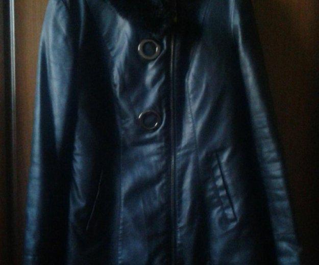 Куртка кожзам. Фото 1. Кинешма.