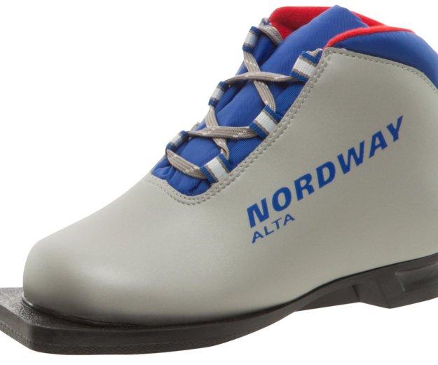 Детские лыжные ботинки nordway. Фото 1. Самара.