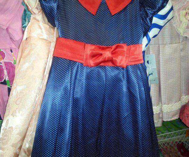 Детское, платье в горошек. Фото 1. Самара.