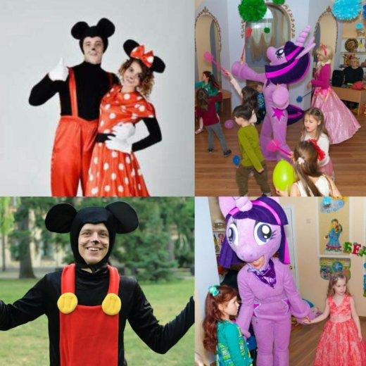 Аниматоры на детские праздники. Фото 1. Москва.