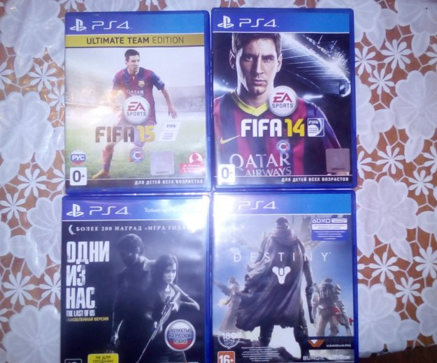4игры the last of us(одни изнас)destiny, fifa14-15. Фото 1. Калуга.
