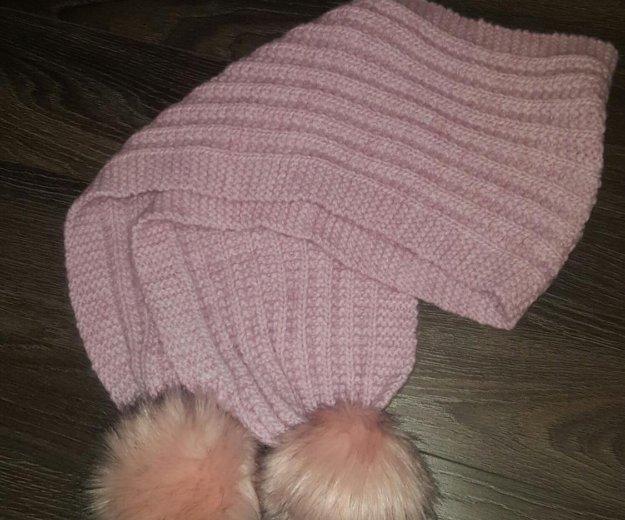 Шапка и шарф. Фото 3. Краснодар.