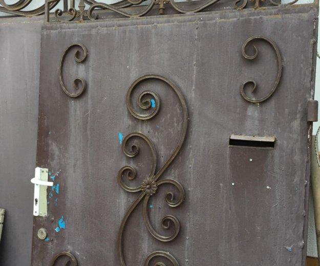 Ворота металлические. Фото 1. Геленджик.