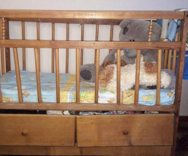 Детская кроватка. Фото 1. Белореченск.