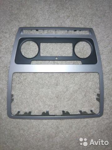 Рамка магнитолы на skoda octavia. Фото 1. Зеленоград.