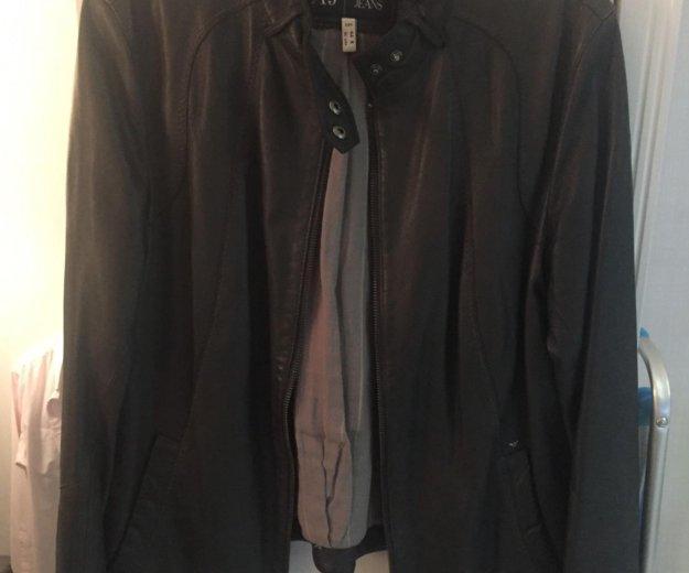 Куртка кожаная. Фото 1. Мытищи.