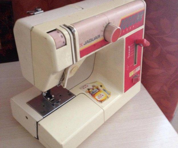 Швейная машинка ягуар без педали. Фото 1. Кемерово.