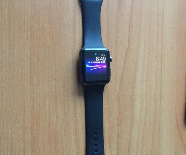 Apple watch 43мм sport. Фото 1. Москва.