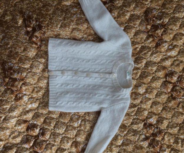 Кофточка детская бенитон на 3-6 мес. Фото 1. Новокузнецк.