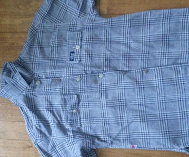 Плотная фирменная рубашка fila. Фото 4. Киров.