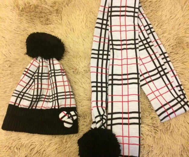 Шапка и шарф, зима. Фото 1. Ижевск.
