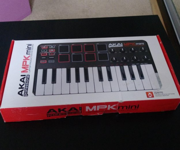Akai professional mpk mini 25 key. Фото 1. Краснодар.