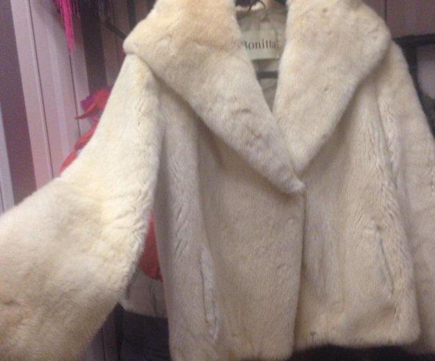 Куртка , белая норка.. Фото 1. Казань.