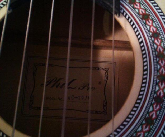 Гитара шестиструнная, фирма pril peo. Фото 2. Москва.