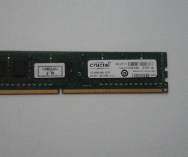 Оперативная память на 4 гб ddr3 частотой 1600 mhz. Фото 2. Донской.