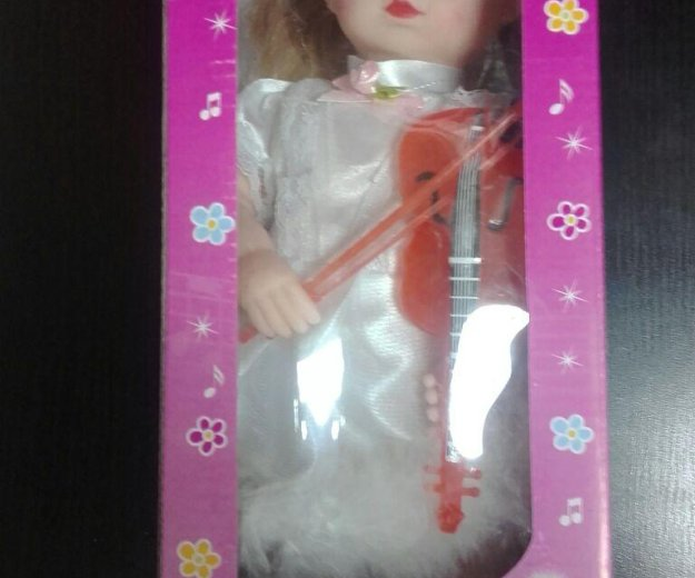 Нова кукла - ангел  скрипачка на батарейках. Фото 1. Краснодар.