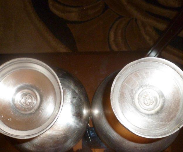 Креманки мельхиоровые советские кольчугино. Фото 3. Юбилейный.