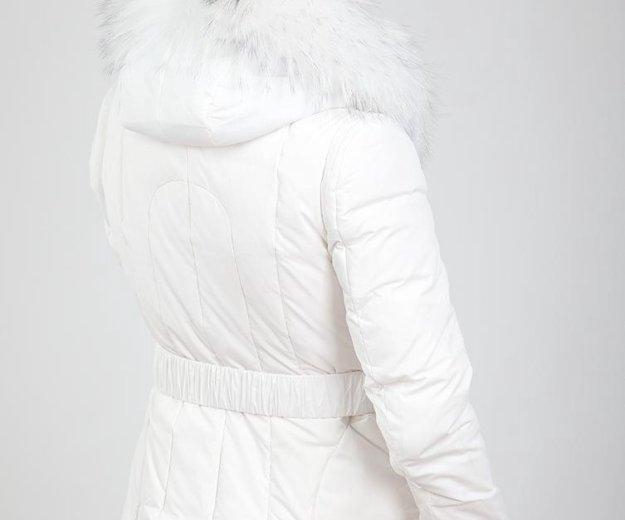 Белый короткий пуховик vininus. Фото 2. Ульяновск.