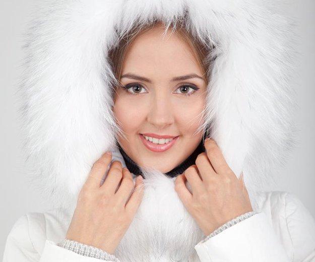 Белый короткий пуховик vininus. Фото 3. Ульяновск.